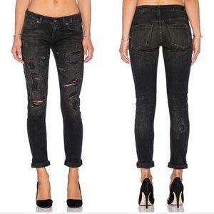 AGOLDE Chloe Lowrise Slim Skinny Jeans Liverpool